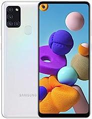 Samsung 三星 Galaxy A21S (64GB, 4GB) 6.5 英寸,四摄像头,全天电池,双卡 GSM 解锁全球 4G LTE VoLTE (T-Mobile, AT&T, Metro, Strai