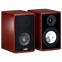 Canton Ergo 620 2声道低音反射式书架音箱 (70/130 W, 立式 樱桃色 (一对)