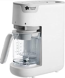 Tommee Tippee 快速烹饪婴儿食品蒸锅和搅拌机,白色