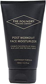 男士保湿面霜 – *防蓝光日常面部护肤产品适合所有肤质,轻质冷却无香料滋养,富含*剂,美国制造 3.3 液体盎司。