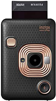 Fujifilm 富士 Instax Mini Liplay 混合即时相机 - 优雅黑色