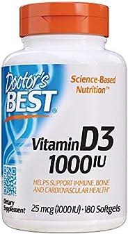Doctor's Best 维生素 D3 1000 IU,