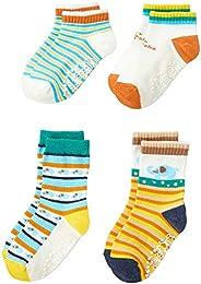 Filloie 菲洛瓦 婴儿 4双装袜子 多彩动物 小丑 13-18厘米 88-82-1102