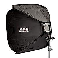 LastoLite LL LS2462 24x24 英寸 Ezybox 熱靴,帶支架(黑色)