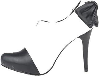 Petitepeds - 娇小脚女鞋 - 专为女士设计,小脚设计 - 尺寸 3 - 高跟鞋 - 黑色和白色 - 皮革 - 正式 - Zapatos