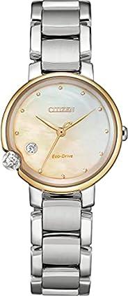 Citizen 西铁城 腕表 光动能 Round Collection EW5586-86Y 女士 银色