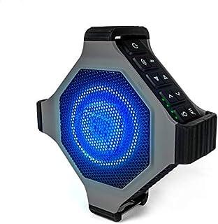 ECOXGEAR EcoEdge Plus 坚固防水浮动便携式蓝牙无线 20 瓦智能音箱,带开瓶器和 LED 派对灯GDI-EXEGPL410