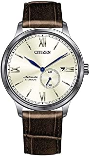 Citizen 西铁城 男士指针式机械手表带 NJ0090-13P