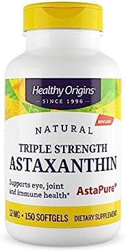 Healthy Origins 虾青素 (AstaPure) 12 毫克,150 粒软胶囊