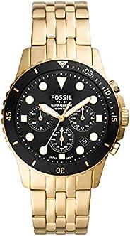Fossil Fb-01 计时不锈钢手表 FS5836