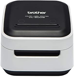 Brother兄弟 VC-500W 彩色标签打印机USB 接口和无线局域网9 毫米到 50 毫米