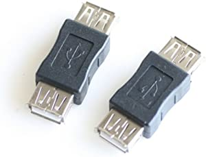 USB连接头 双母头USB母对母头 USB孔对孔 USB转接头 usb延长接头