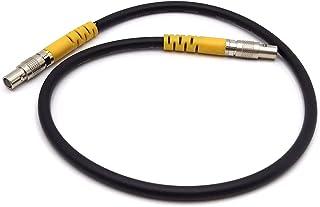 MCcamstore 1 针公对公 19.7 英寸/50 厘米 EVF 电缆适用于 ARRI Alexa Mini LF MVF-2 取景器电缆无钥匙 CoaXpress (迷你 LF evf 电缆 19.8 英寸)