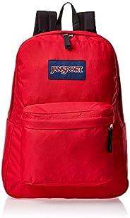 JanSport 中性 叛逆学院风休闲旅行学生双肩背包 T5015XP 正红色