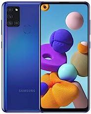 三星 Galaxy A21S SM-A217f/DS | 4G LTE 64GB + 4GB Ram LTE | 四个摄像头(48+8+2+2mp)| Android 国际版本(仅限GSM)(黑色)