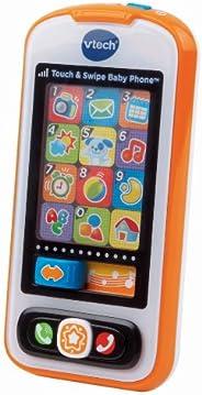 Vtech 触摸和可滑动婴儿手机,橙色