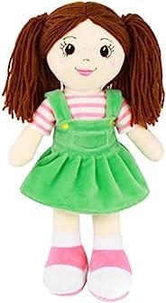 Playtime by Eimmie 女孩柔软布偶娃娃 - 14 英寸儿童*个洋娃娃 - 毛绒婴儿玩具 - 适合所有年龄段的宝宝 Allie