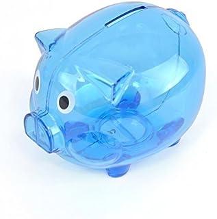 ebuygb 透明塑料储蓄罐/金钱 BOX
