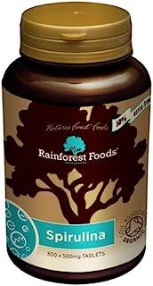 Rainforest Foods *螺旋藻片剂 500 毫克 300 粒装