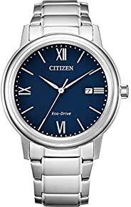 Citizen 西铁城 男式模拟光动能手表不锈钢表带 AW1670-82L