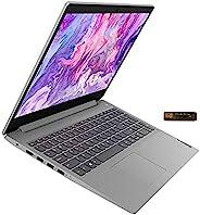 2020_Lenovo_IdeaPad 3 15.6 英寸全高清笔记本电脑,英特尔* 10 代酷睿 i3-1005G1,8GB 内存,256GB PCIe SSD,网络摄像头,802.11ac WiFi,HDMI,蓝牙,