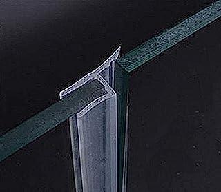 玻璃门侧密封条 120 英寸无框淋浴门扫帚适用于 1.27 厘米框架玻璃门