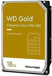 Western Digital 18TB WD Gold Enterprise Class 内置硬盘 - 7200 RPM Class SATA 6 Gb/s 512 MB 缓存,3.5 英寸- WD181KRYZ