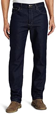 Lee Men's Fit Regular Straight Leg Jean Indigo Stretch 42W x