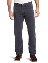 Lee 男士標準修身直筒牛仔褲 Thunder 40W x 30L