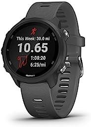 Garmin Forerunner 245 具有高级动力学功能的智能GPS运动手表,板岩灰
