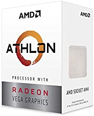AMD Athlon 3000G 处理器 Radeon Vega 3 显卡(2C/4T,3.5 GHz 基础时钟)