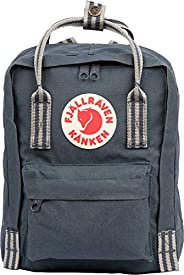 Fjällräven Unisex's Fjallraven Kanken Mini Backpack-Black-Ox Red, One