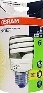 OSRAM 节能灯 / DULUX TWIST / E27 插座 / 20 瓦 / 暖白 / 2700K