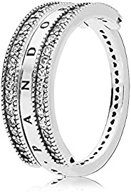 Pandora 潘多拉 女士戒指 心形 197404CZ