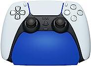 PlayVital 蓝色控制器显示支架 适用于 Playstation 5 游戏手柄配件桌面支架 带橡胶垫