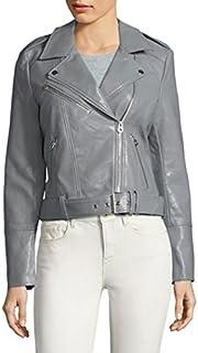 VERO MODA 女式牛津短款仿皮机车夹克
