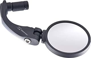 SERFAS(滤芯) 自行车防风镜 MR-1 62mm大径不锈钢镜片 左右通用设计 黑色