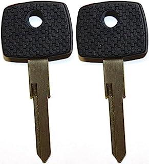 2 件装 - 全新适合 2003 2004 2005 2006 梅赛德斯奔驰/道奇Sprinter 未切割点火/门晶发器芯片钥匙坯料 SP-S15TK1