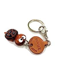 乌龟皮革鱼/海洋动物小钥匙扣 VANCA CRAFT 可收藏钥匙圈日本制造