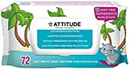 Attitude Eco 濕巾無香料72張濕巾