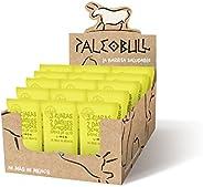 Paleobull 能量棒 * 天然富含蛋白质柠檬、枸杞和姜经济包 15 x 55 克 15 条