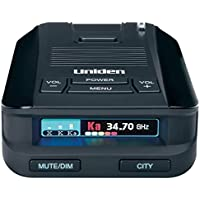Uniden DFR8 超远程激光和雷达检测,高级K/KA波段滤波器,语音通知,超亮多色OLED显示屏
