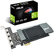 ASUS NVIDIA GeForce GT 710 搭载无风扇型号2G GT710-4H-SL-2GD5