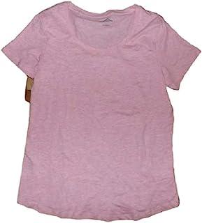 Eddie Bauer 女式低圆领短袖 T 恤