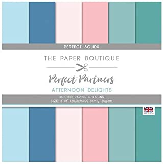 The Paper Boutique Partners-Afternoon Delights,Perfect Solid, 8x8