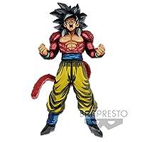 Banpresto - 小雕像 DBZ GT - 孙悟空*赛亚人 4 个*大巨星块漫画尺寸 33 厘米 - 3296580826353