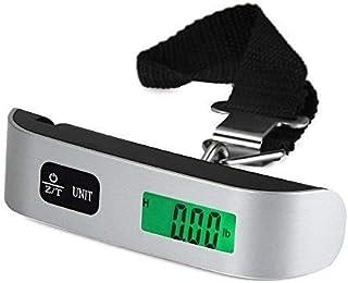 5 核数码行李秤 11 磅(约 49.9 千克),便携式手持+挂钩,含电池
