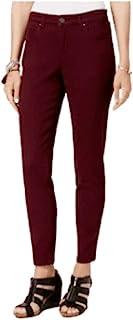 Style & Co 曲线修身时尚牛仔裤 Berry JAM 16 XL 码