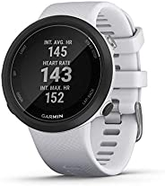 Garmin 佳明 Swim 2 GPS 游泳手表 水下心率测量 特殊游泳功能 游泳 / 室外模式 GLONASSGALILER 运动应用程序 7 天电池续航时间 白色/灰色