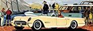 纽约拼图公司 - 通用汽车美国跑车 - 750 片装儿童*拼图
